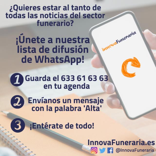 whatsapp innovafuneraria