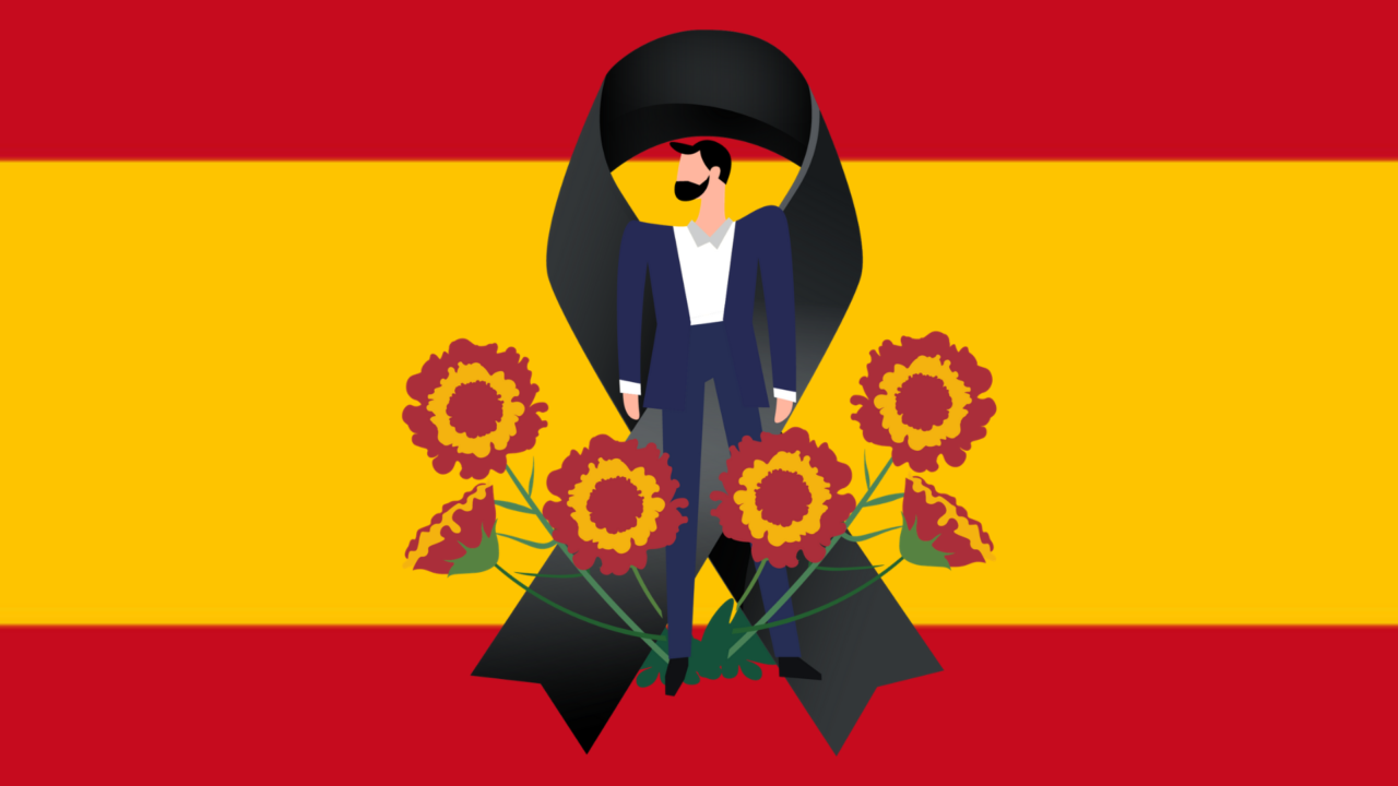 bandera españa innovafuneraria